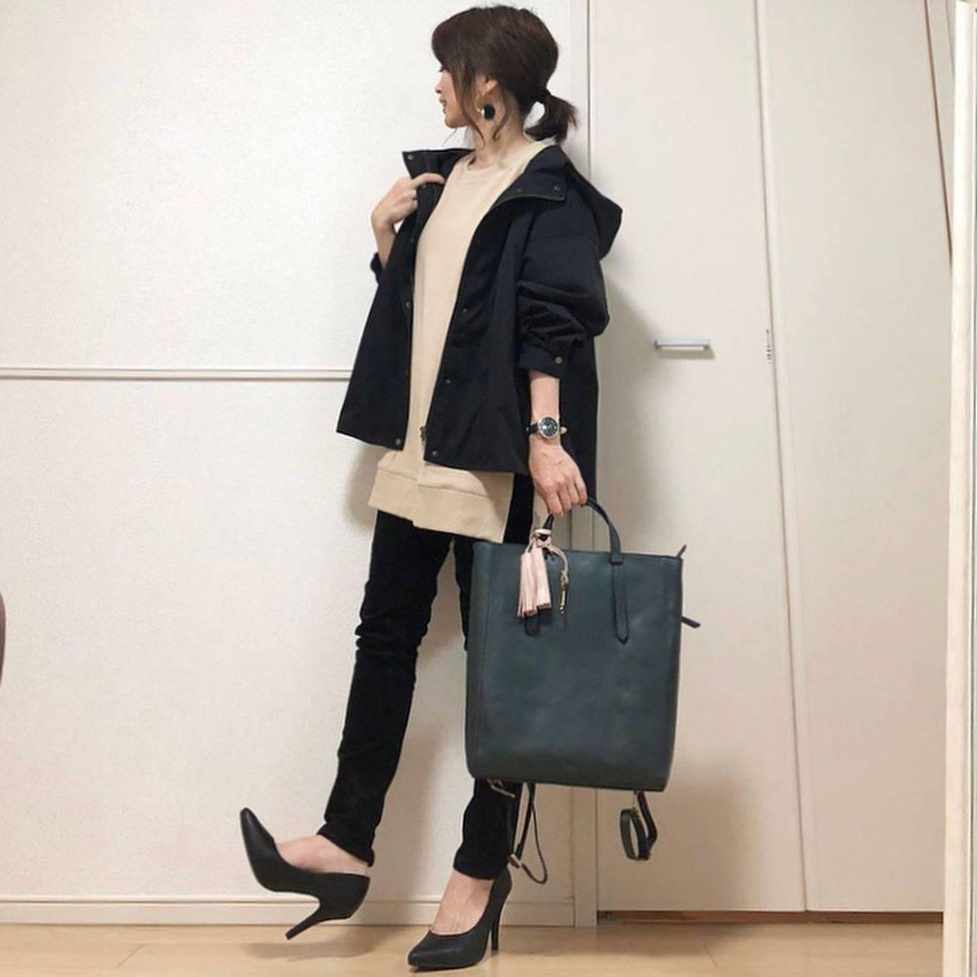 最高気温24度・最低気温12度 takanogunsou0805の服装