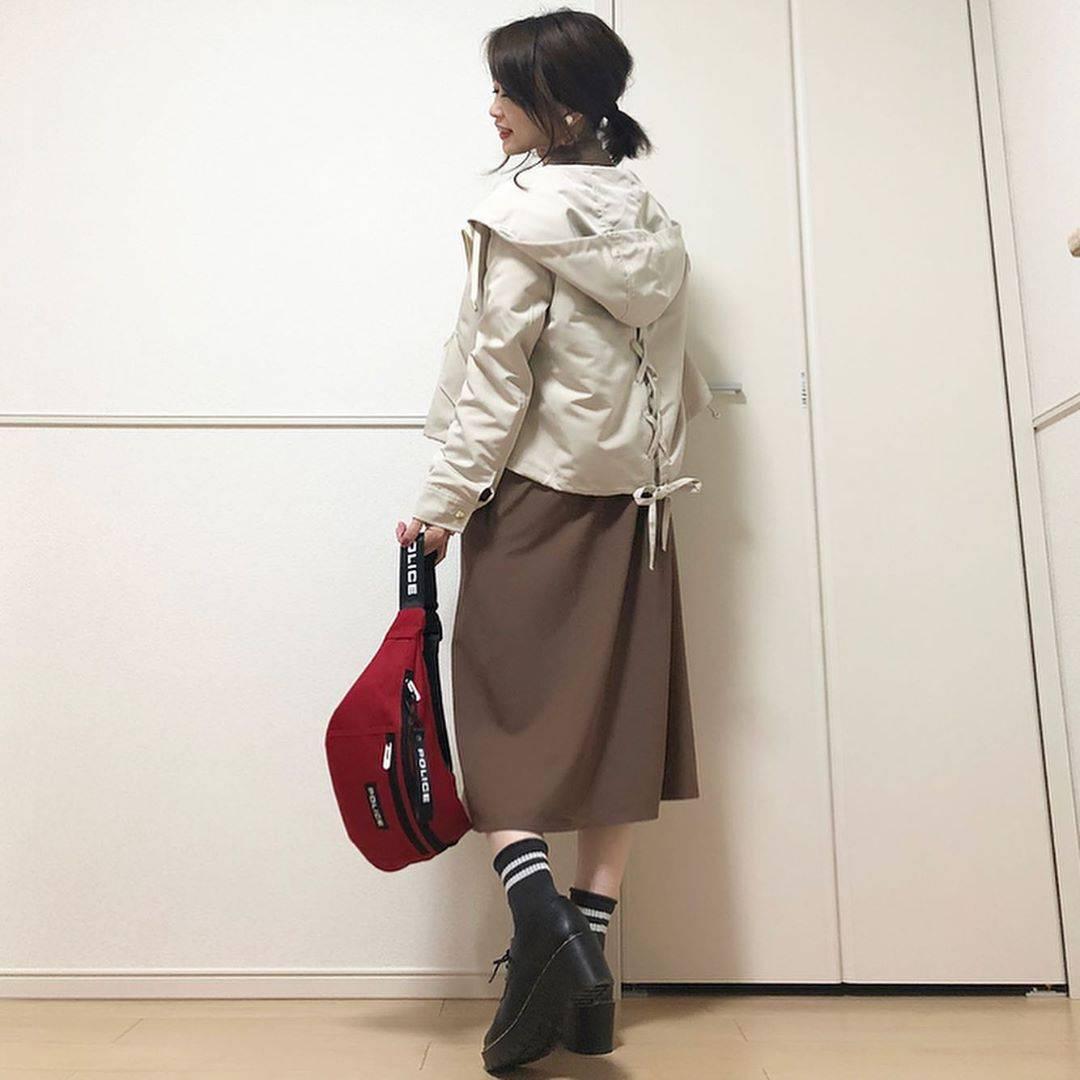 最高気温17度・最低気温15度 takanogunsou0805の服装