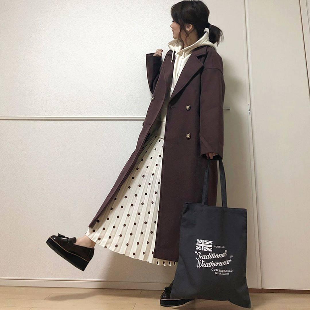 最高気温15度・最低気温11度 takanogunsou0805の服装