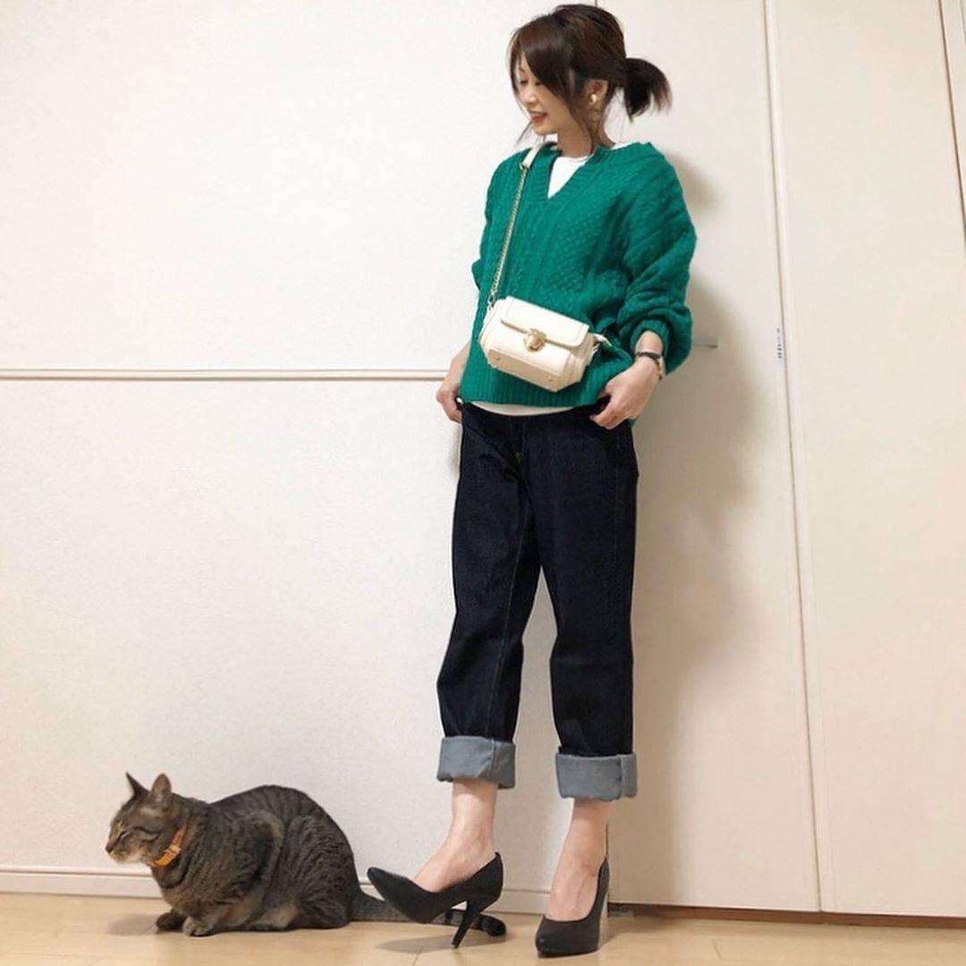 最高気温16度・最低気温12度 takanogunsou0805の服装