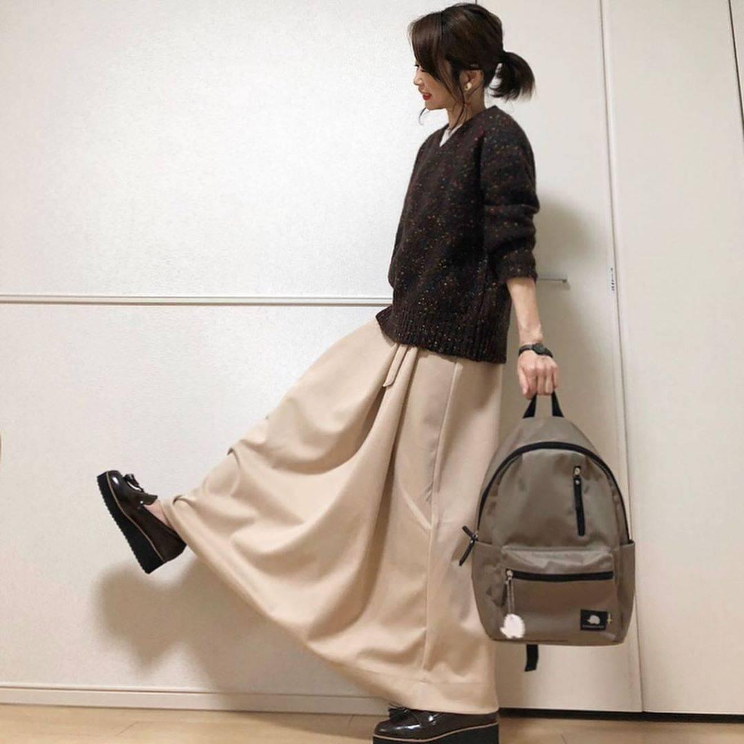 最高気温23度・最低気温12度 takanogunsou0805の服装