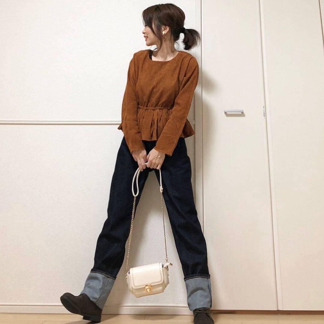 最高気温19度・最低気温9度 takanogunsou0805の服装