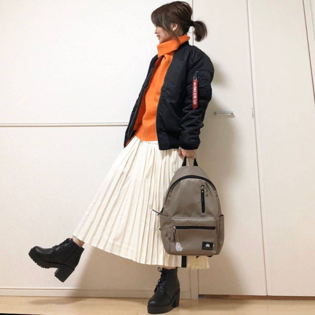 最高気温21度・最低気温8度 takanogunsou0805の服装