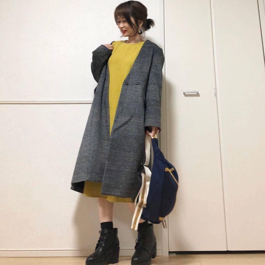 最高気温19度・最低気温11度 takanogunsou0805の服装