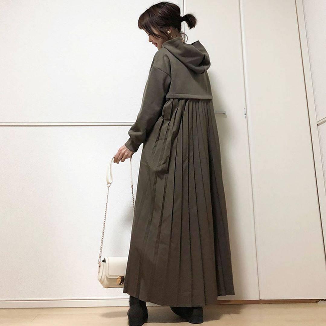 最高気温18度・最低気温9度 takanogunsou0805の服装