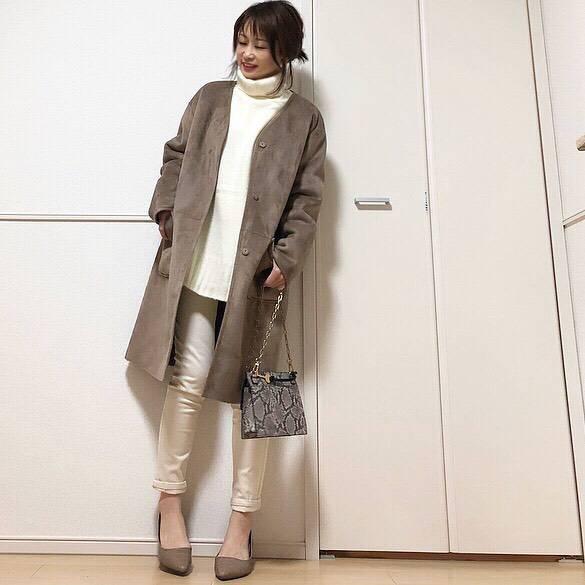 最高気温21度・最低気温9度 takanogunsou0805の服装