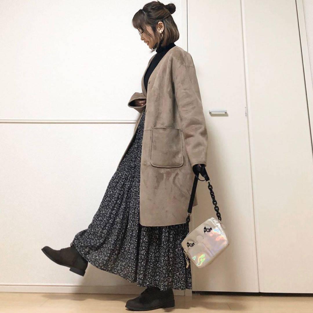 最高気温14度・最低気温7度 takanogunsou0805の服装