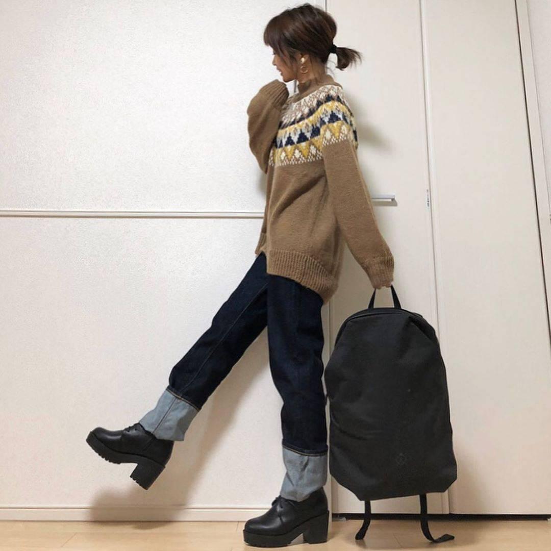 最高気温15度・最低気温8度 takanogunsou0805の服装