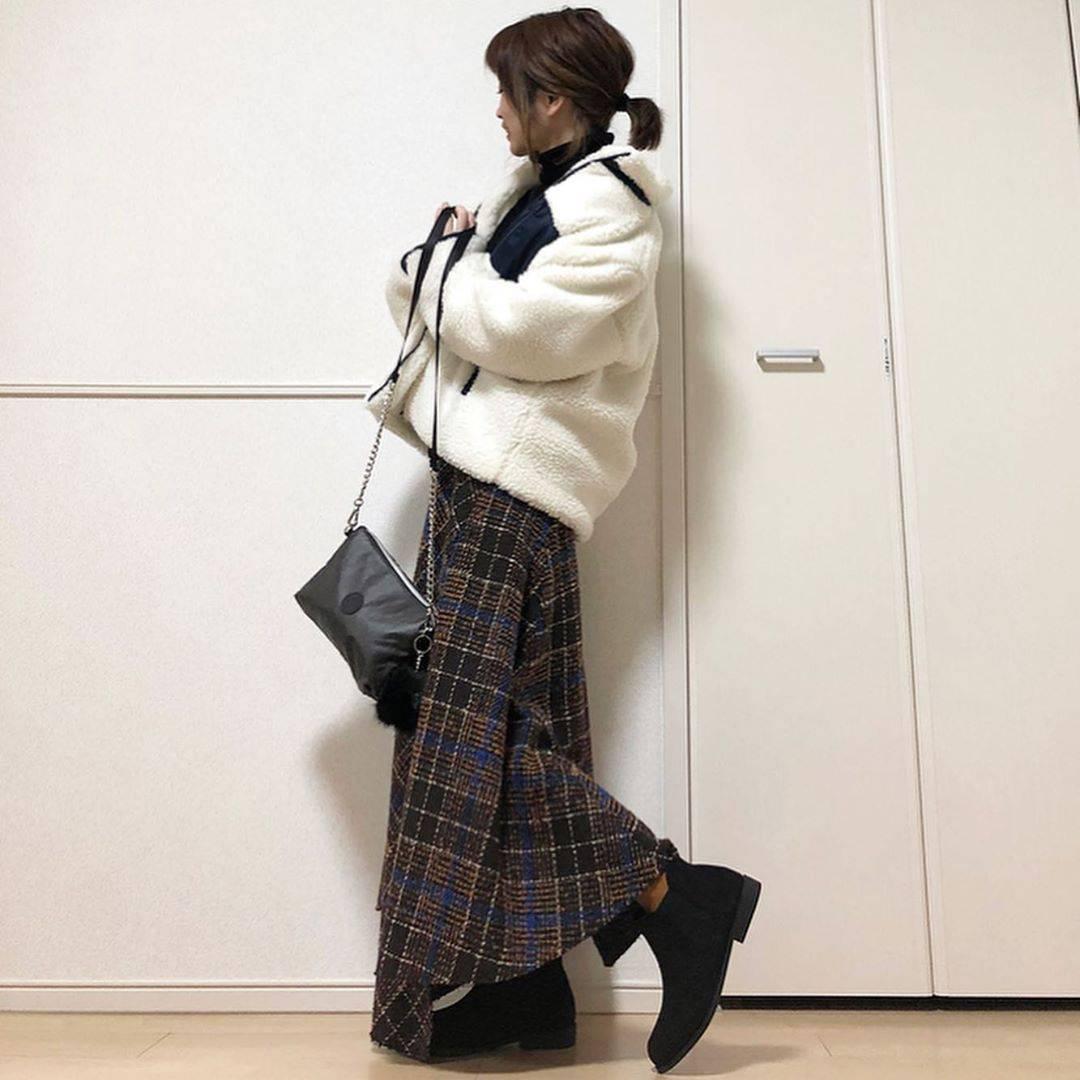 最高気温13度・最低気温9度 takanogunsou0805の服装