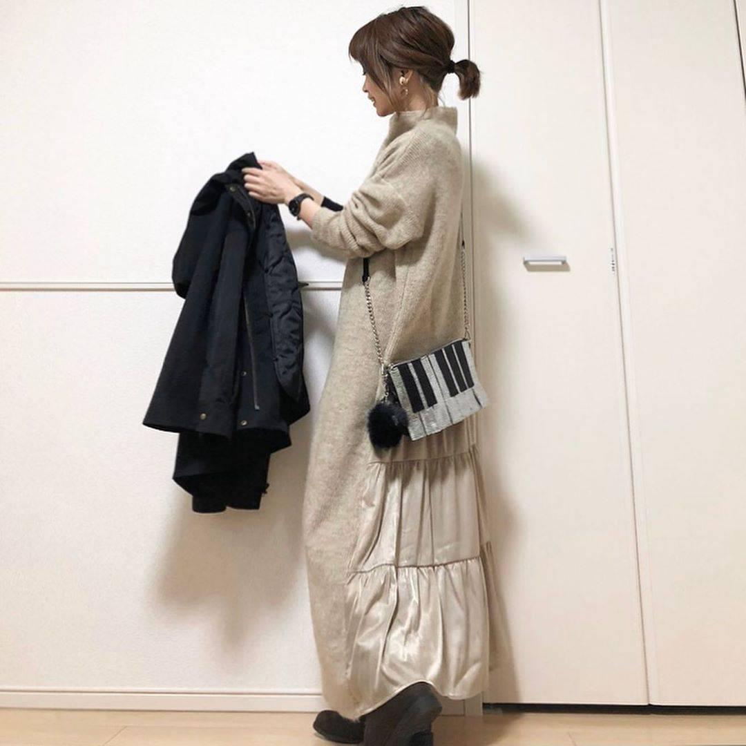 最高気温12度・最低気温8度 takanogunsou0805の服装