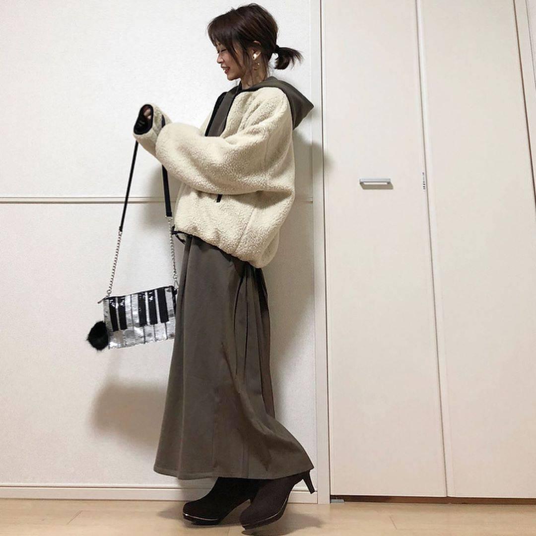 最高気温19度・最低気温12度 takanogunsou0805の服装