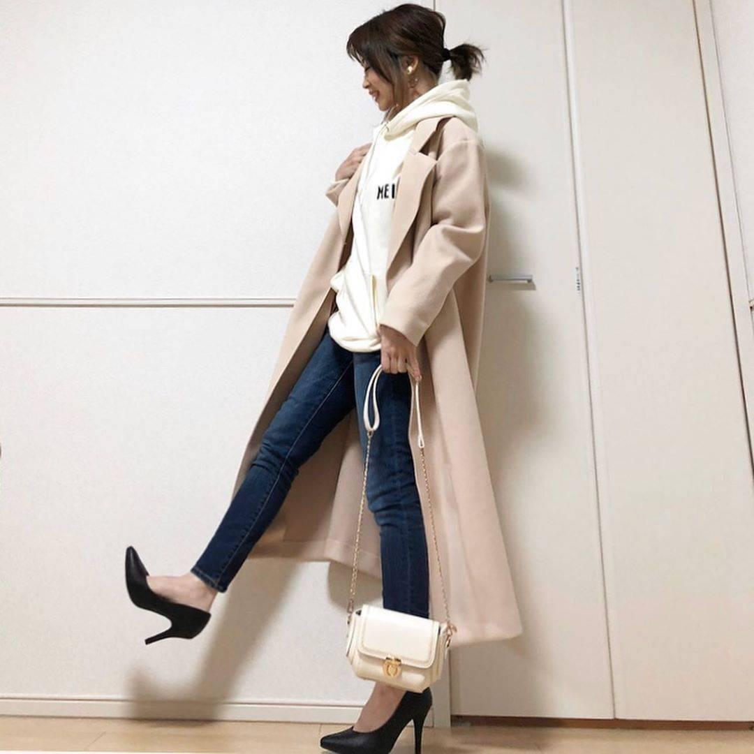 最高気温21度・最低気温12度 takanogunsou0805の服装