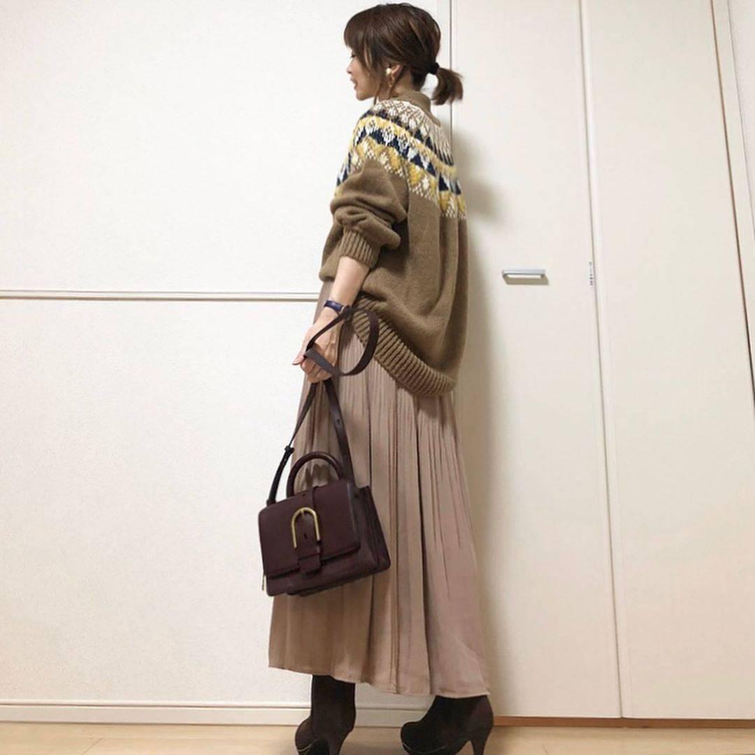 最高気温9度・最低気温1度 takanogunsou0805の服装