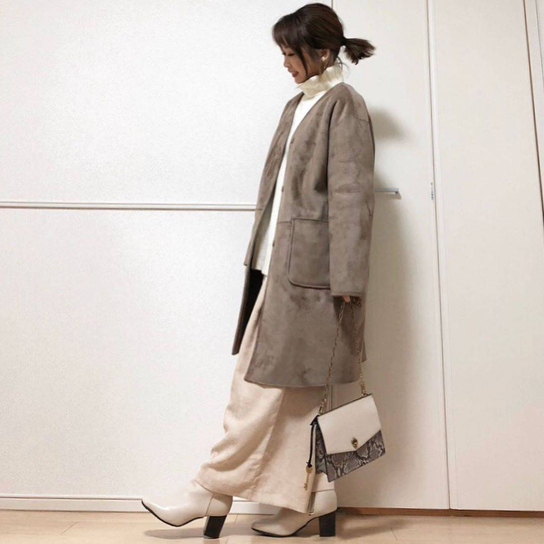 最高気温17度・最低気温9度 takanogunsou0805の服装