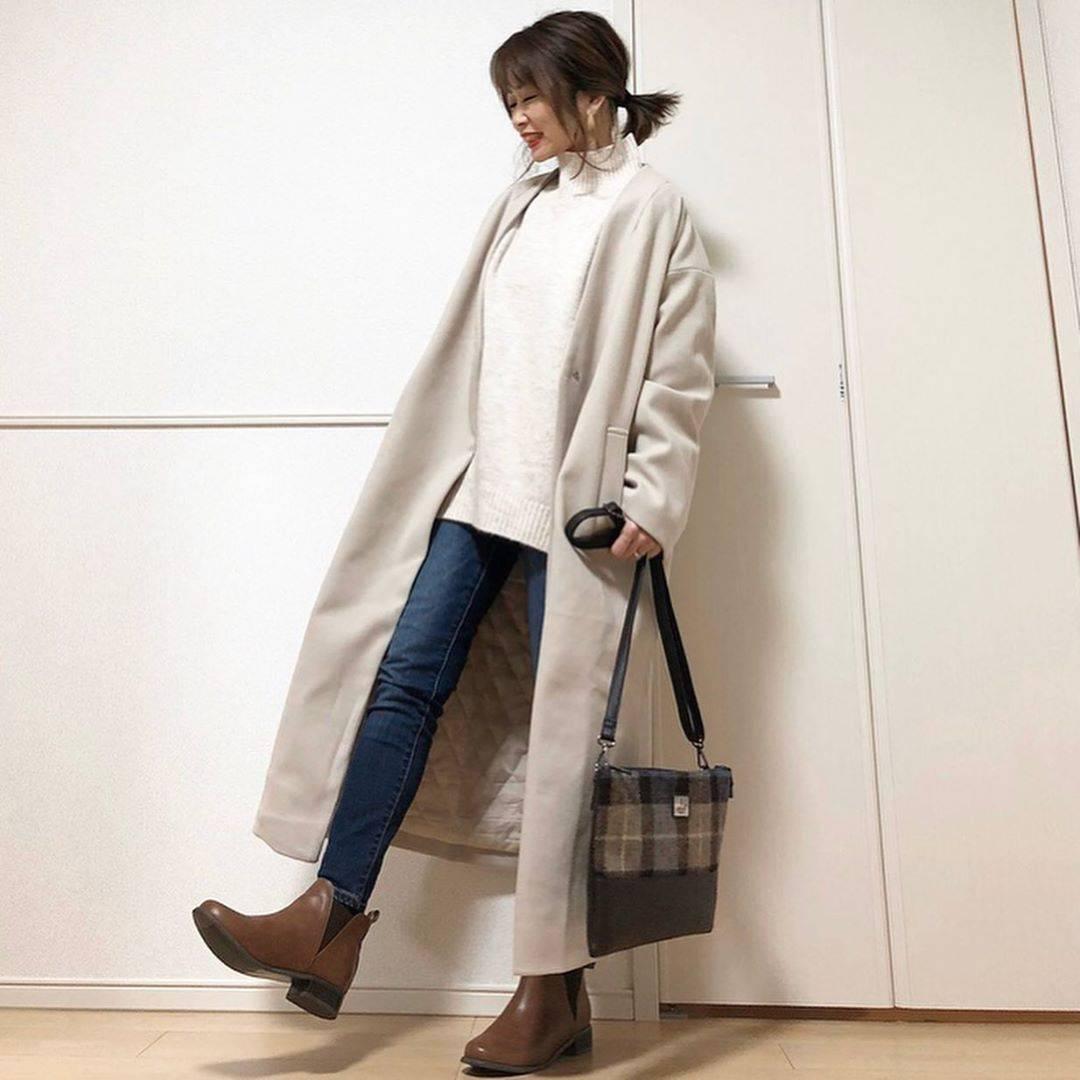 最高気温7度・最低気温4度 takanogunsou0805の服装