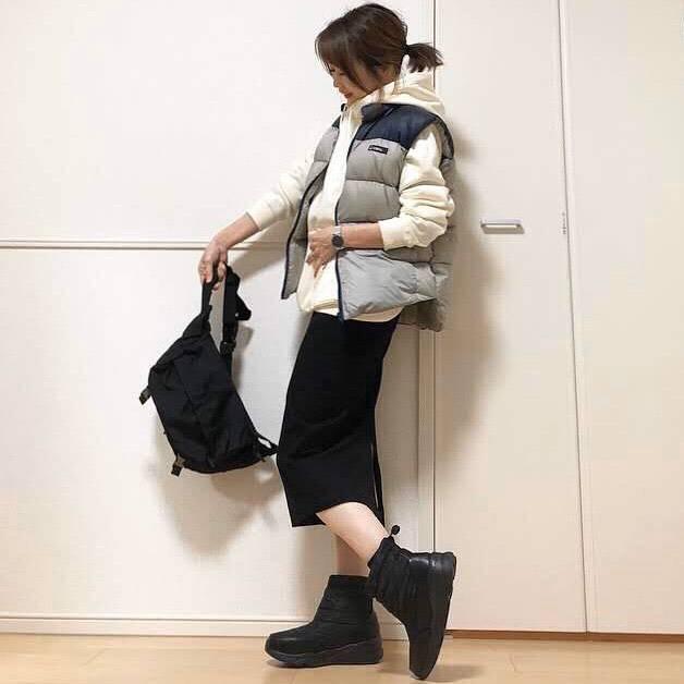 最高気温9度・最低気温3度 takanogunsou0805の服装