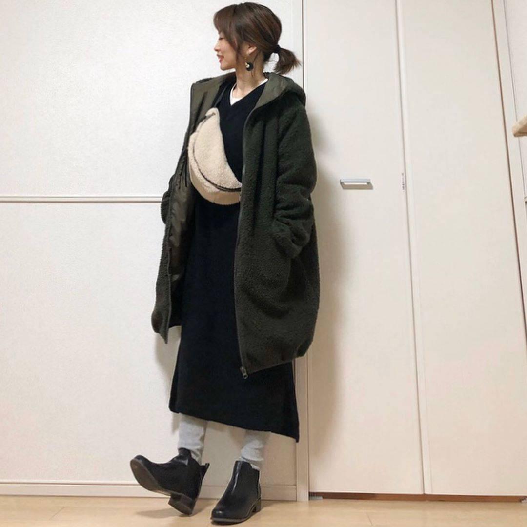 最高気温16度・最低気温2度 takanogunsou0805の服装
