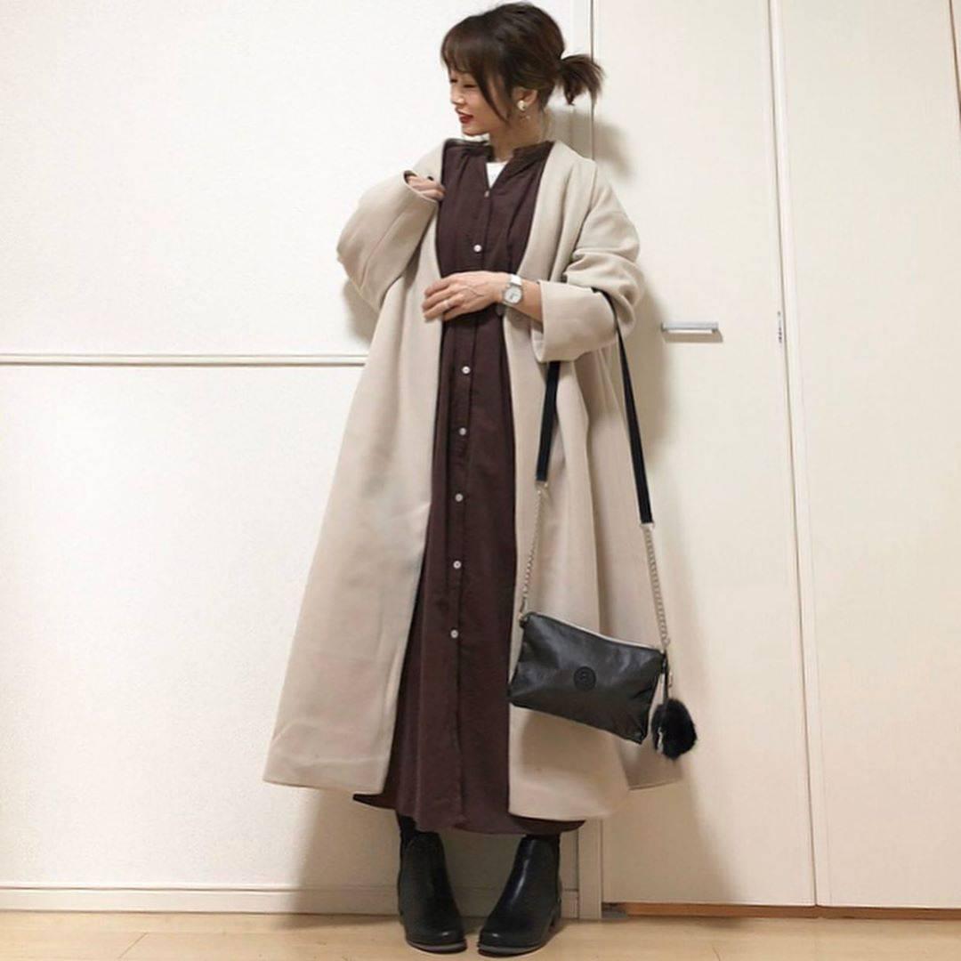 最高気温12度・最低気温5度 takanogunsou0805の服装