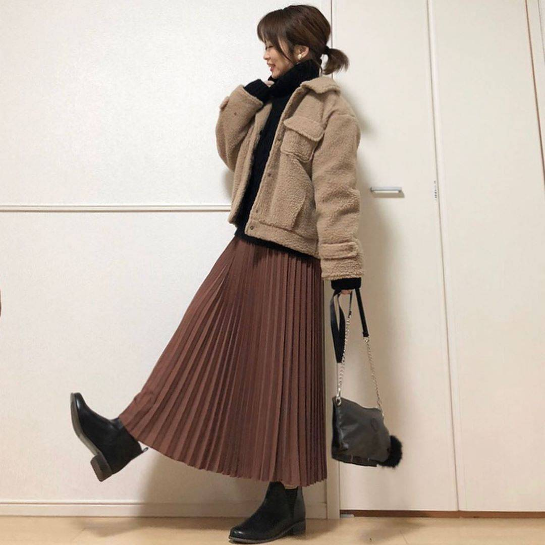 最高気温9度・最低気温6度 takanogunsou0805の服装