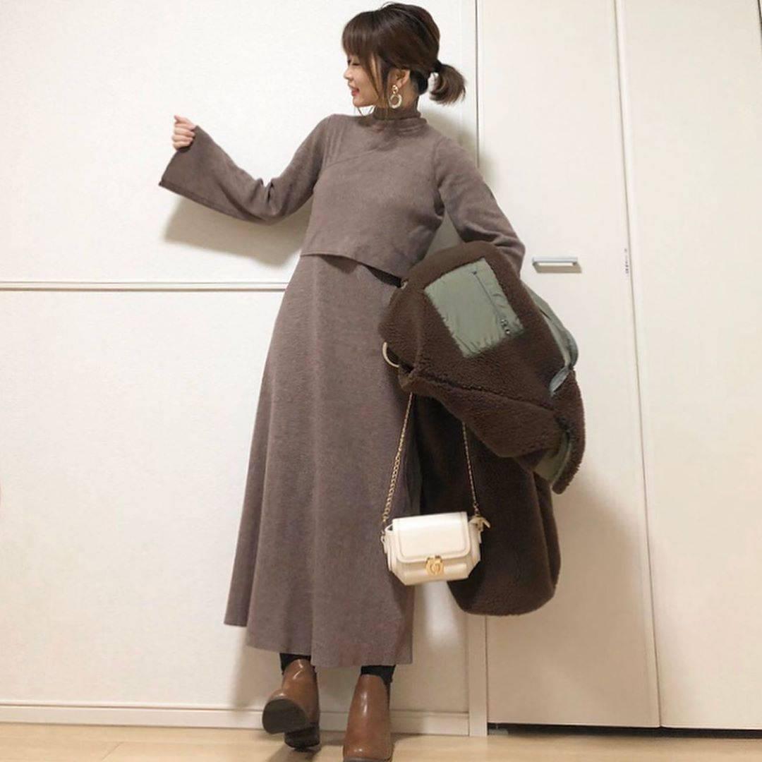 最高気温10度・最低気温2度 takanogunsou0805の服装