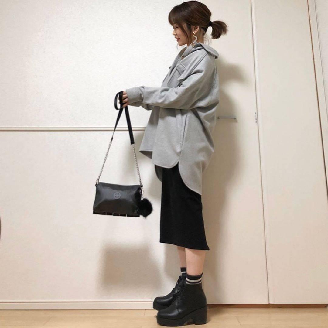 最高気温8度・最低気温5度 takanogunsou0805の服装