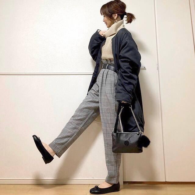 最高気温9度・最低気温4度 takanogunsou0805の服装