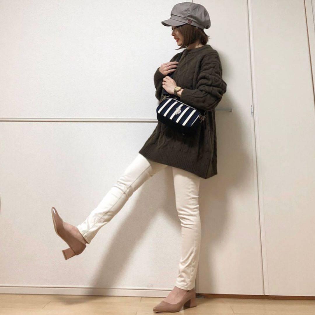 最高気温11度・最低気温3度 takanogunsou0805の服装