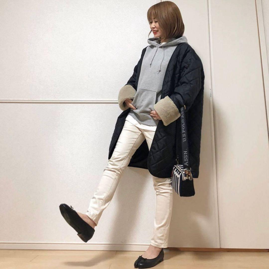最高気温8度・最低気温4度 takanogunsou0805の服装