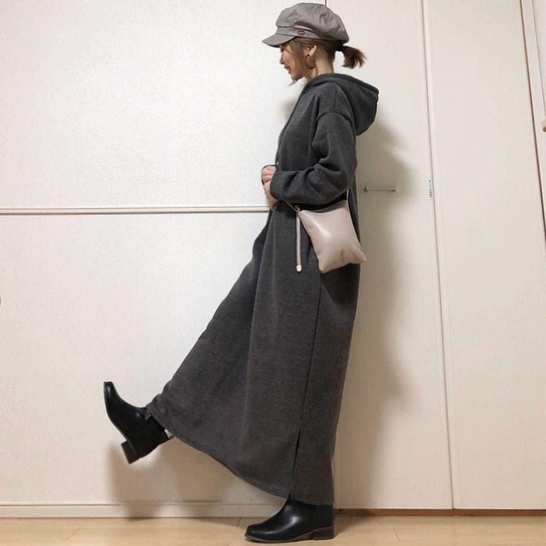 最高気温6度・最低気温2度 takanogunsou0805の服装