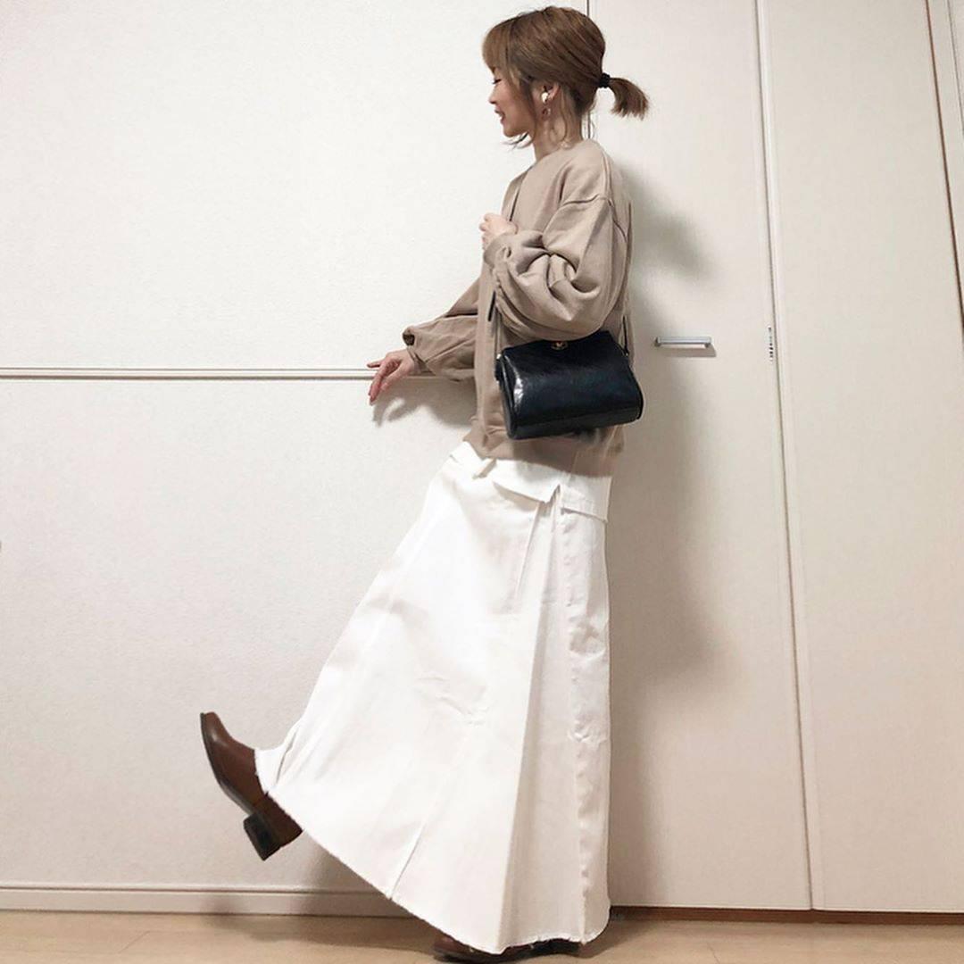 最高気温13度・最低気温5度 takanogunsou0805の服装