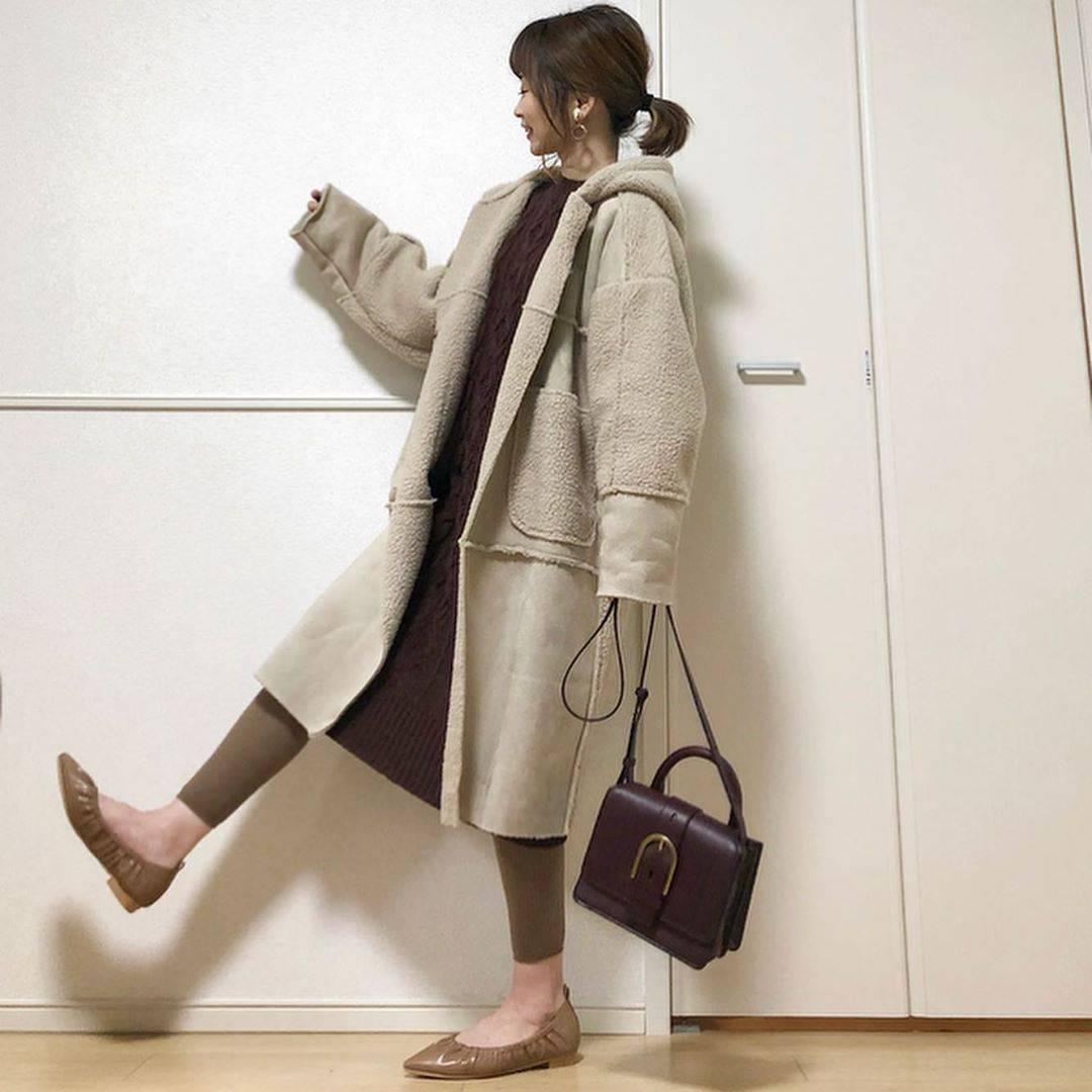 最高気温15度・最低気温2度 takanogunsou0805の服装