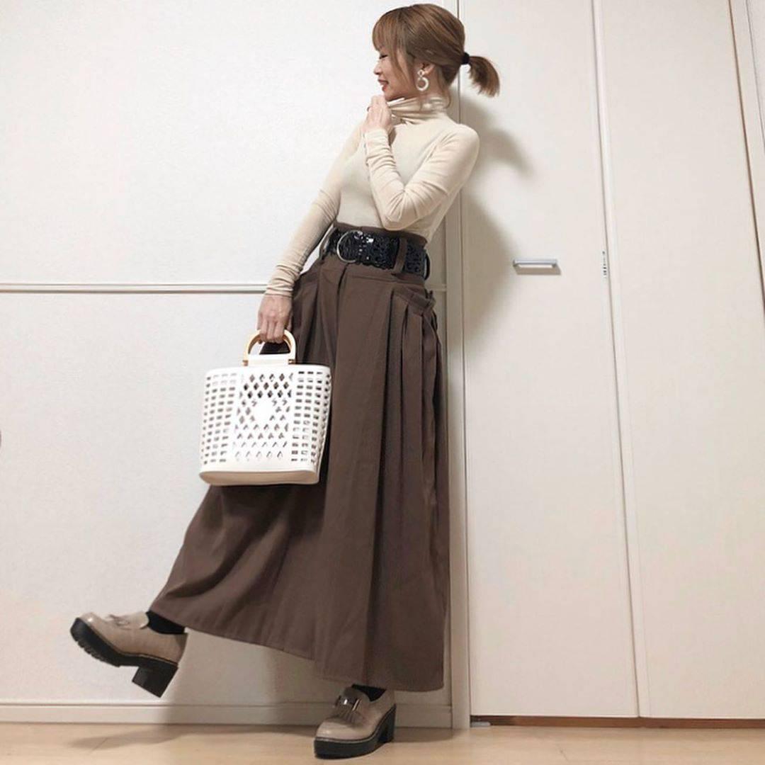 最高気温6度・最低気温0度 takanogunsou0805の服装