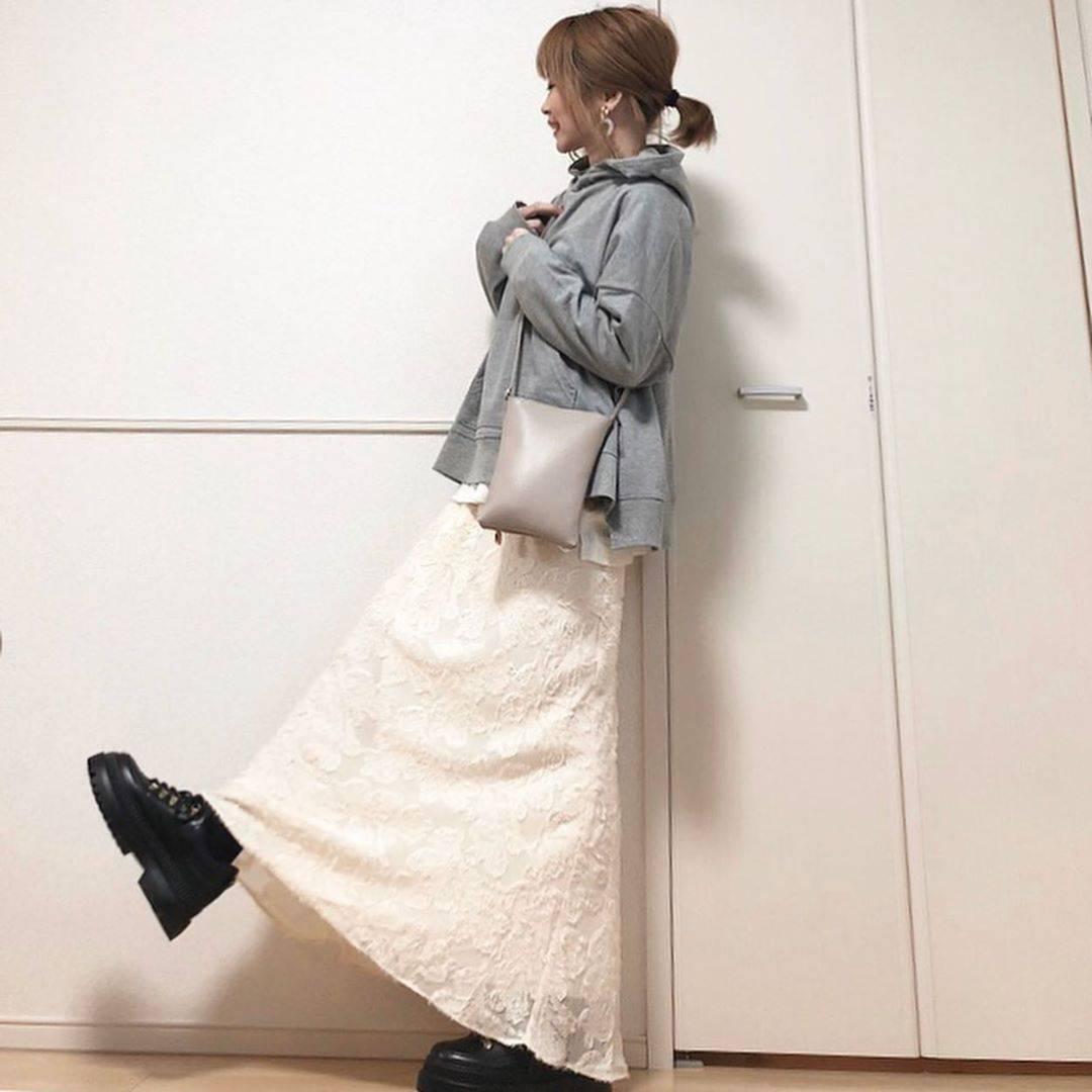 最高気温8度・最低気温1度 takanogunsou0805の服装