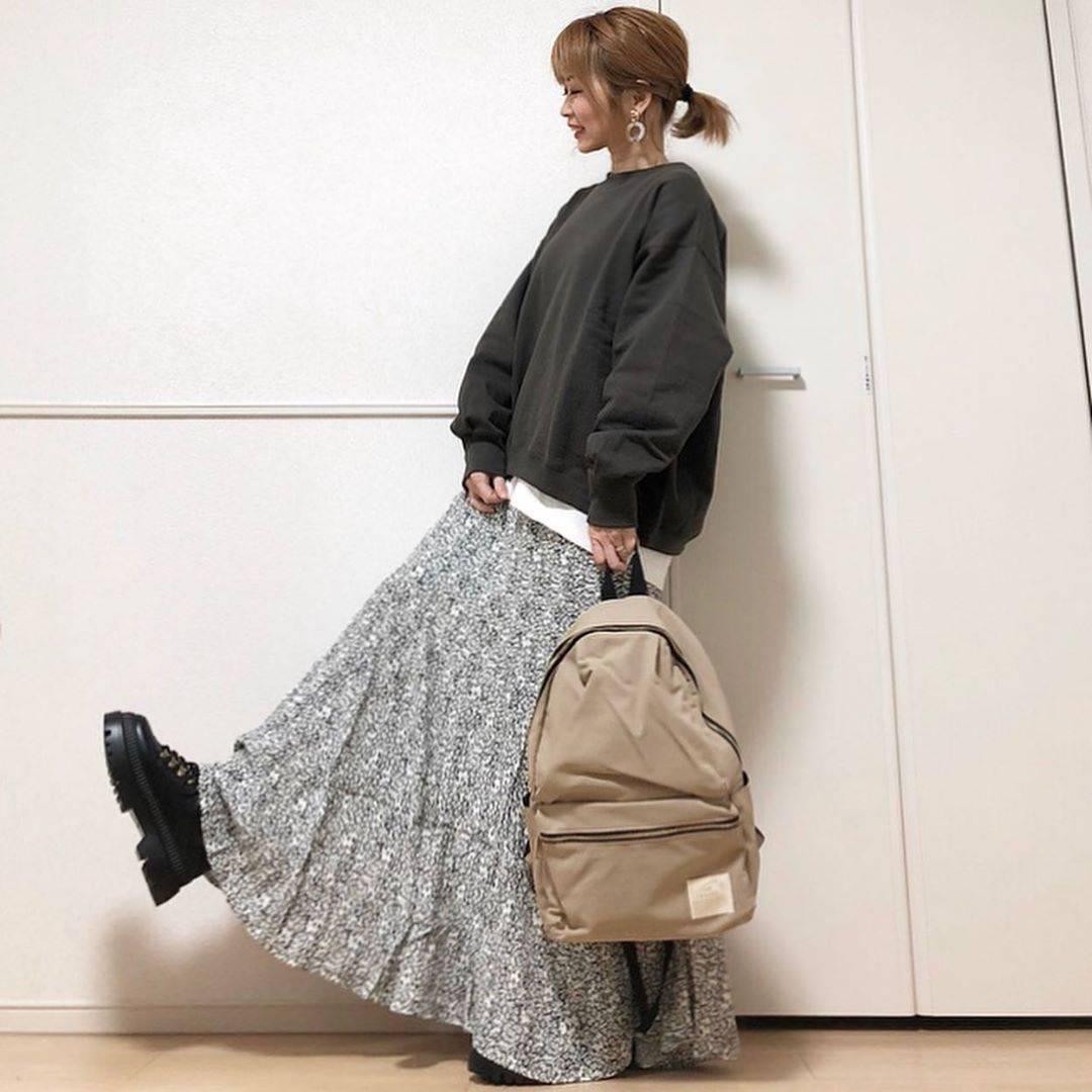 最高気温9度・最低気温-1度 takanogunsou0805の服装