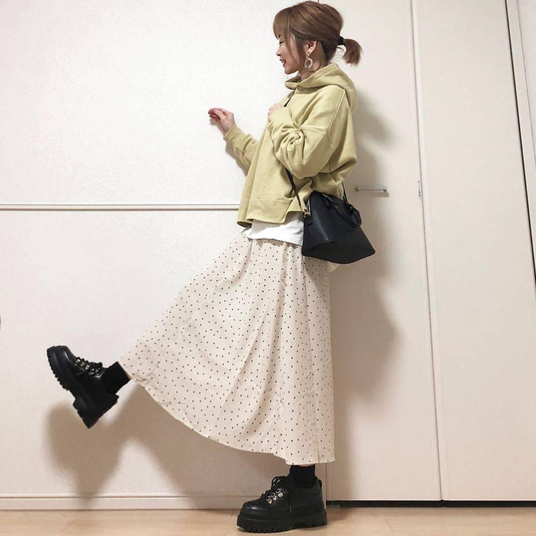 最高気温16度・最低気温1度 takanogunsou0805の服装