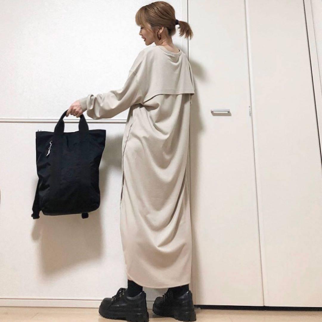最高気温18度・最低気温7度 takanogunsou0805の服装