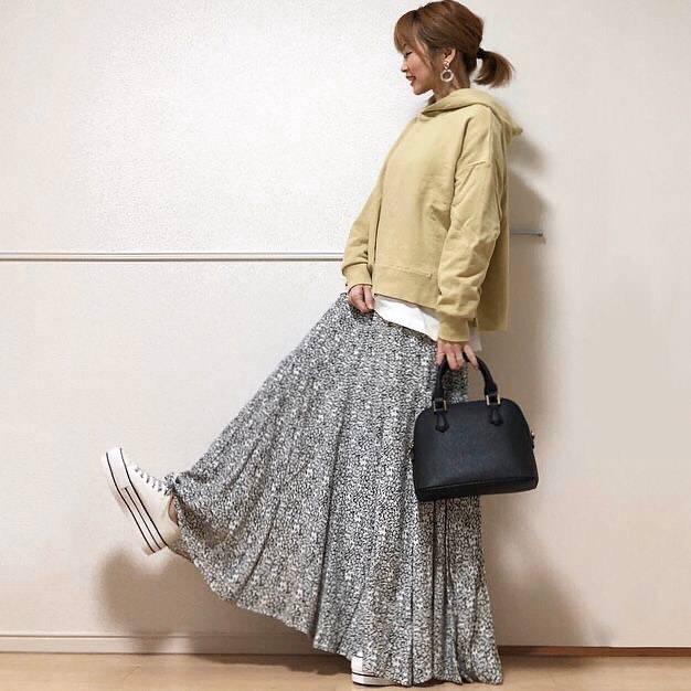 最高気温13度・最低気温3度 takanogunsou0805の服装