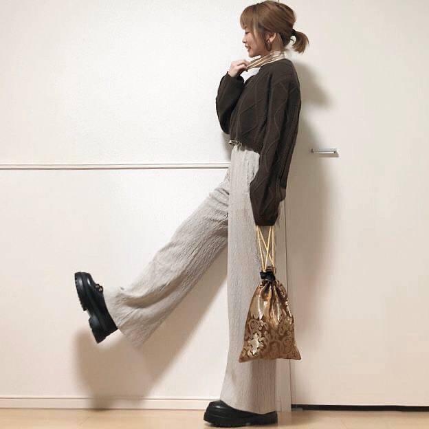 最高気温16度・最低気温5度 takanogunsou0805の服装