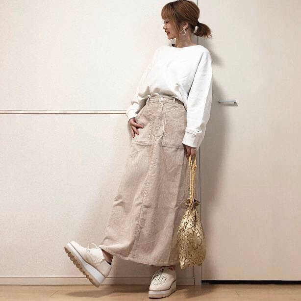 最高気温11度・最低気温5度 takanogunsou0805の服装