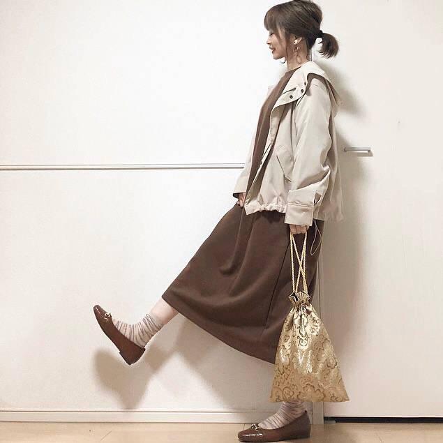 最高気温10度・最低気温5度 takanogunsou0805の服装