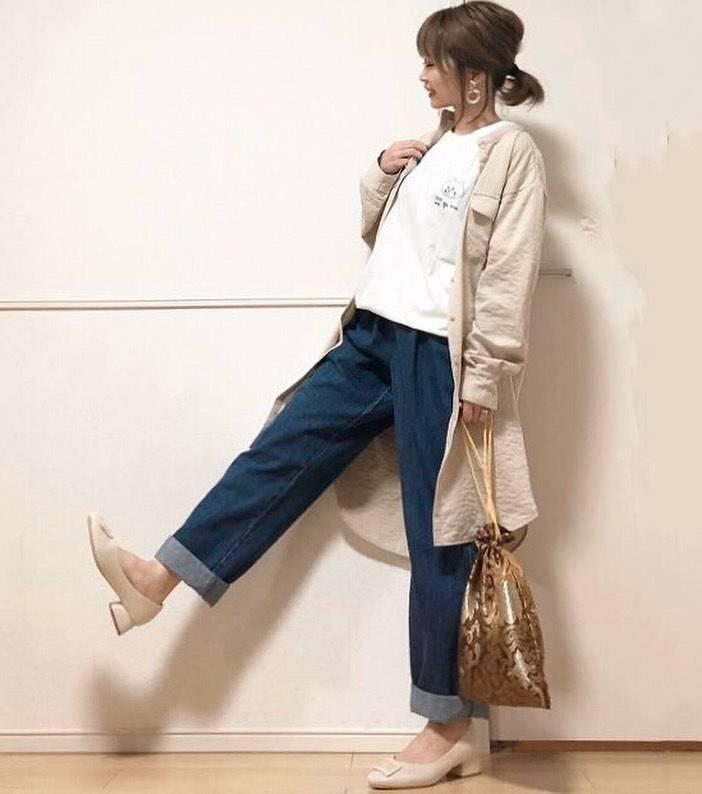 最高気温12度・最低気温1度 takanogunsou0805の服装