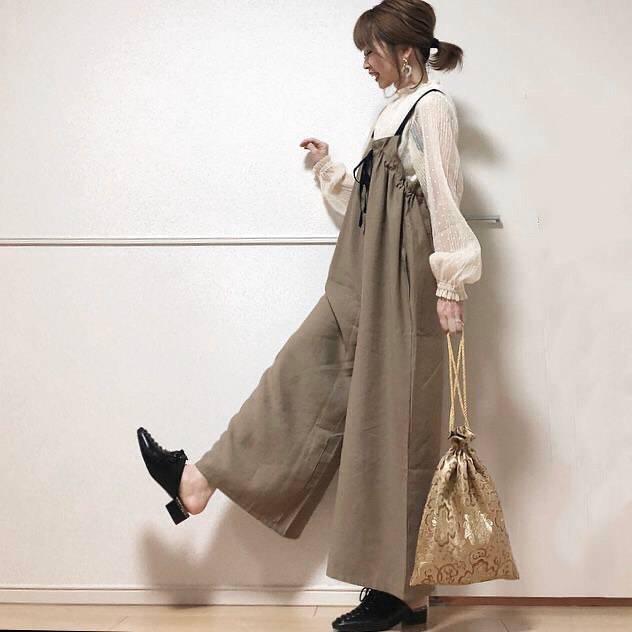 最高気温14度・最低気温3度 takanogunsou0805の服装