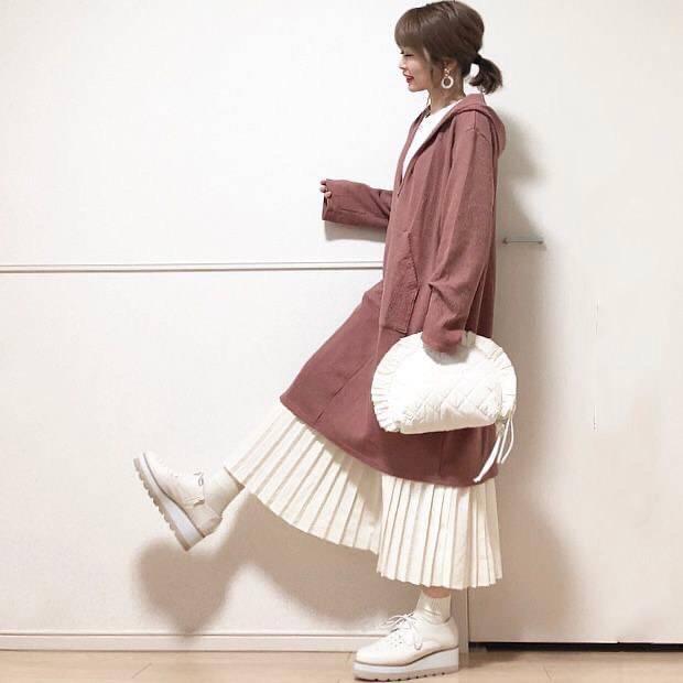 最高気温10度・最低気温3度 takanogunsou0805の服装