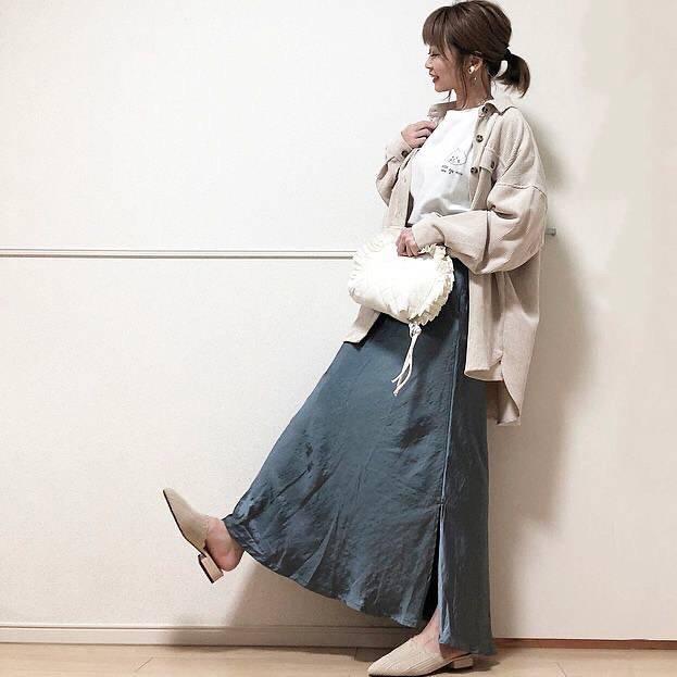 最高気温22度・最低気温8度 takanogunsou0805の服装