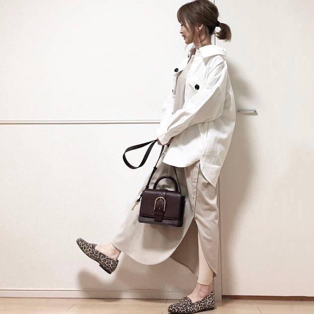 最高気温20度・最低気温8度 takanogunsou0805の服装