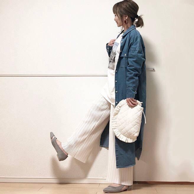 最高気温17度・最低気温7度 takanogunsou0805の服装