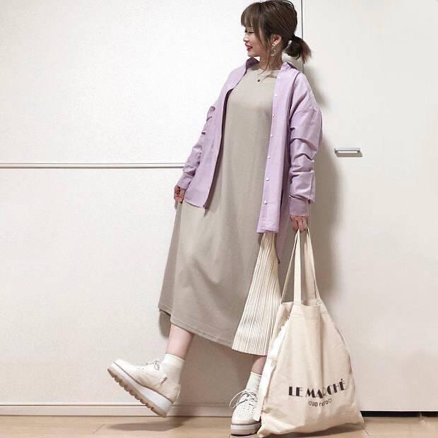 最高気温16度・最低気温8度 takanogunsou0805の服装