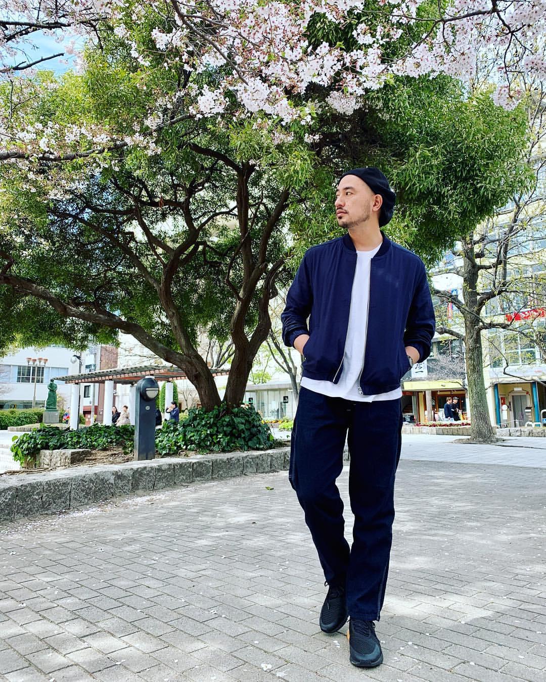 最高気温21度・最低気温10度 tanaka_yusuke_typyの服装