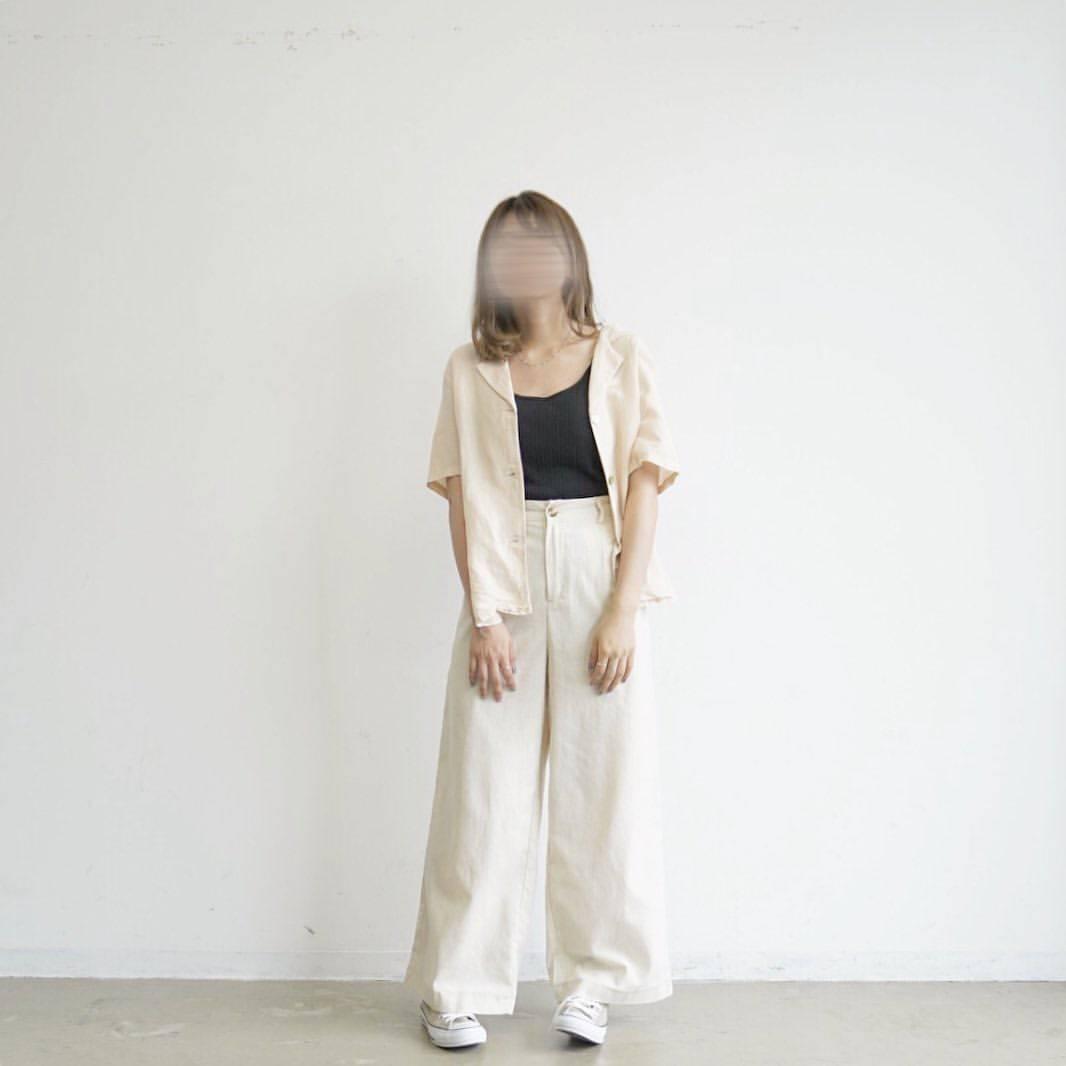 最高気温22度・最低気温20度 tmr_wearの服装