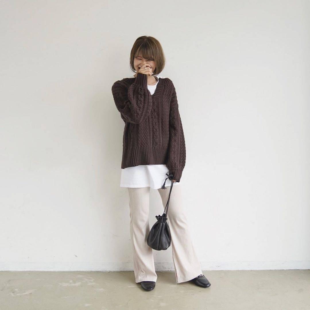 最高気温24度・最低気温18度 tmr_wearの服装